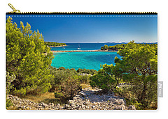 Beautiful Emerald Beach On Murter Island Carry-all Pouch