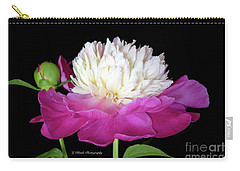 Beautiful Fancy Peony Carry-all Pouch