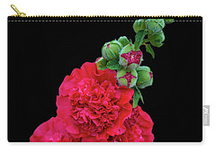 Beautiful Flowering Mallow Carry-all Pouch