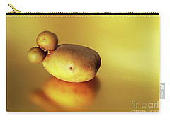 Beautiful Golden Spud With Babies Carry-all Pouch