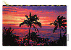 Beautiful Hawaiian Sunset Carry-all Pouch by Michael Rucker