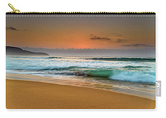 Beautiful Hazy Sunrise Seascape  Carry-all Pouch