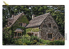Carry-all Pouch featuring the photograph Beautiful Home by Joann Copeland-Paul