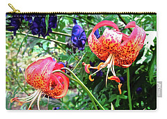 Beautiful Irish Flowers Carry-all Pouch by Stephanie Moore