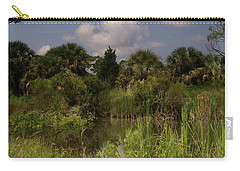 Beautiful Landscape Of Trees Carry-all Pouch