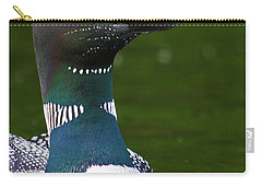 Beautiful Loon Close Up Carry-all Pouch