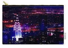 Beautiful Manhattan Skyline Carry-all Pouch by Az Jackson