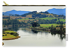 Carry-all Pouch featuring the photograph Beautiful Manning River 06663. by Kevin Chippindall