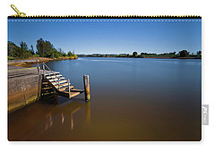 Carry-all Pouch featuring the photograph Beautiful Manning River 666 by Kevin Chippindall