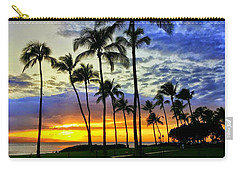 Beautiful Maui Hawaii Sunset Carry-all Pouch