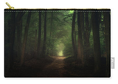 Beautiful Morning In Speulderbos Forest Carry-all Pouch