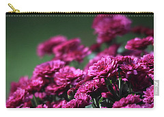 Beautiful Mums Carry-all Pouch by Trina Ansel