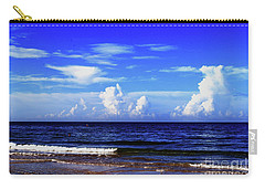 Carry-all Pouch featuring the photograph Beautiful Ocean View by Gary Wonning