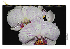 Carry-all Pouch featuring the photograph Beautiful Oechid by Elvira Ladocki