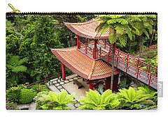 Beautiful Pagoda In Tropical Garden Carry-all Pouch