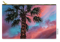 Carry-all Pouch featuring the photograph Beautiful Palm Tree by Robert Bales