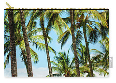 Beautiful Palms Of Maui 16 Carry-all Pouch by Micah May