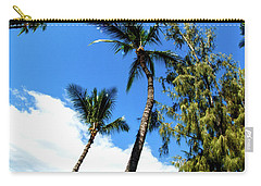 Beautiful Palms Of Maui 17 Carry-all Pouch by Micah May