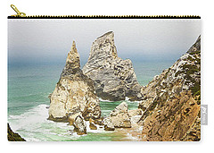 Beautiful Praia Da Ursa In Portugal Carry-all Pouch