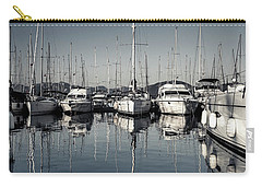 Beautiful Sailboats In The Harbor Carry-all Pouch