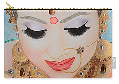 Beautiful Sikh Bride Carry-all Pouch