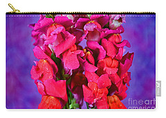 Beautiful Snapdragon Flowers Carry-all Pouch