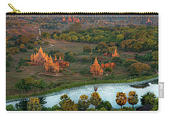 Beautiful Sunrise In Bagan Carry-all Pouch