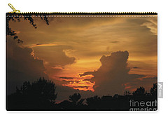 Carry-all Pouch featuring the photograph Beautiful Sunset by Debra Crank