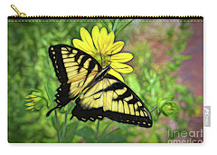 Beautiful Swallowtail Butterfly Carry-all Pouch