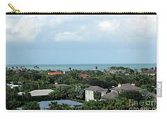 Beautiful Vero Beach Florida Carry-all Pouch by Megan Dirsa-DuBois