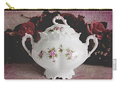 Carry-all Pouch featuring the photograph Beautiful Victorian Bowl  by Trina Ansel