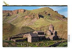 Beautiful Vorotnavank Monastery At Evening, Armenia Carry-all Pouch