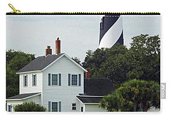 Beautiful Waterfront Lighthouse Carry-all Pouch by D Hackett