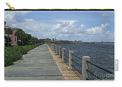 Beautiful Waterfront Walkway Carry-all Pouch