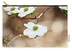 Beautiful White Flowering Dogwood Blossoms Carry-all Pouch
