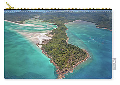 Carry-all Pouch featuring the photograph Beautiful Whitsundays by Az Jackson