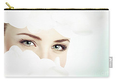 Beautiful Women's Eyes Carry-all Pouch