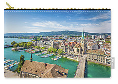 Beautiful Zurich Carry-all Pouch by JR Photography
