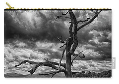 Beautifully Dead In Black And White Carry-all Pouch