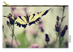 Carry-all Pouch featuring the photograph Beauty And Grace  by Kerri Farley