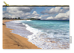 Beauty And The Beach By Kaye Menner Carry-all Pouch
