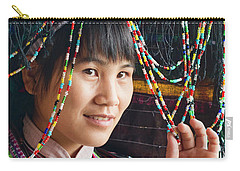 Beauty And The Beads Carry-all Pouch
