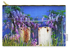 Carry-all Pouch featuring the photograph Beauty Before Age By Kaye Menner by Kaye Menner