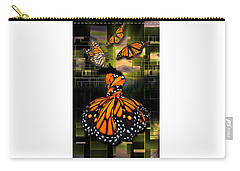 Carry-all Pouch featuring the mixed media Beauty In All Things by Marvin Blaine