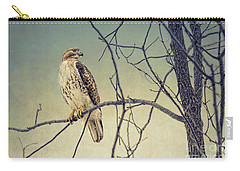 Red-tailed Hawk On Watch Carry-all Pouch