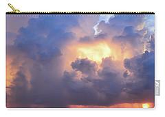 Beauty In The Darkest Skies II Carry-all Pouch by Melanie Moraga
