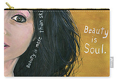Beauty Is Soul Carry-all Pouch