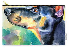 Doberman Pinscher Carry-all Pouches