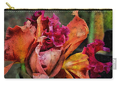 Beauty Of An Orchid Carry-all Pouch by Trish Tritz