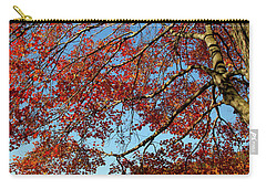 Carry-all Pouch featuring the photograph Beauty Of Fall by Karol Livote